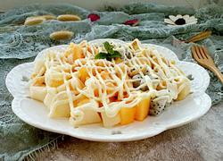 千岛酱水果沙拉