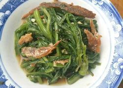 豆豉鲮鱼烧油麦