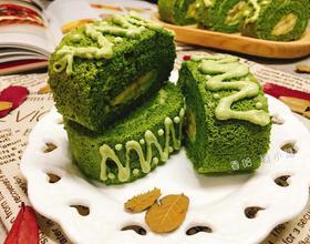 抹茶树干蛋糕卷