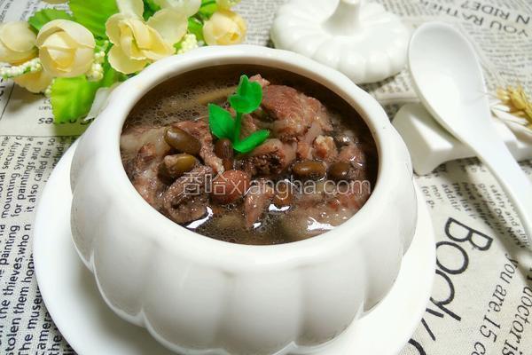 排骨黑豆汤