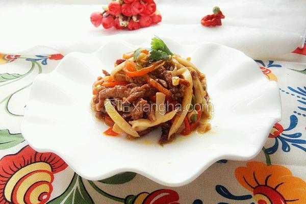 牛柳杏鲍菇