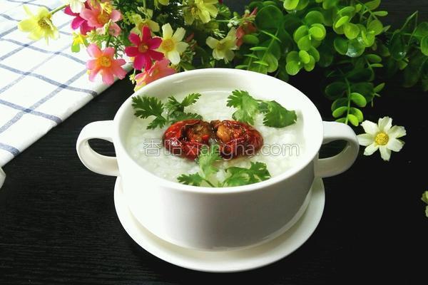 龙虾粥的做法