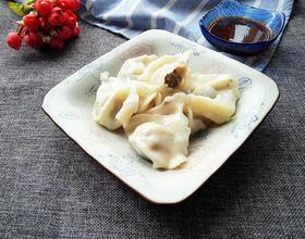 香菇牛肉馅饺子