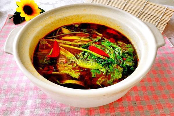 重庆火锅的做法