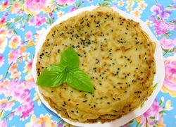 麻香虾米饼