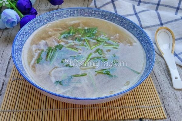 金针菇冬瓜汤