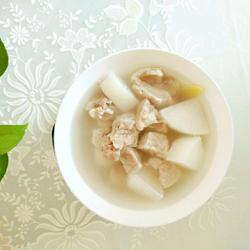 白萝卜猪肺汤的做法[图]
