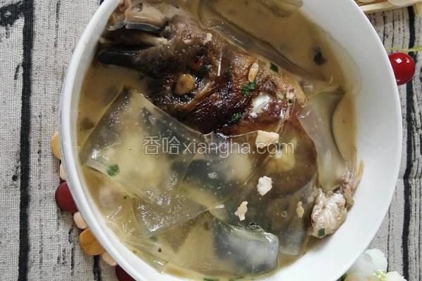 鱼头粉皮汤