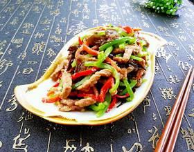 肉丝炒青椒