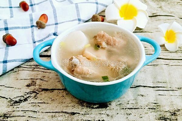 排骨莲藕山药汤