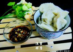 鲜肉马蹄饺子