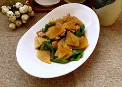 青椒肉炒土豆片