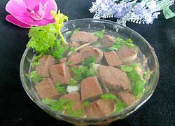 香菜猪血汤