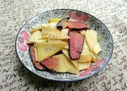 清炒腊肉笋片