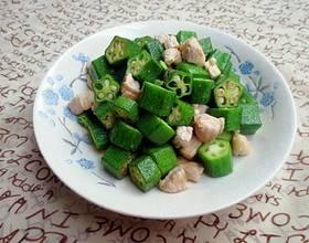 羊角豆炒瘦肉