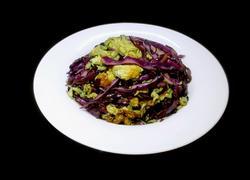 紫甘蓝炒鸡蛋