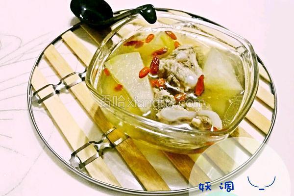 冬瓜排骨枸杞汤