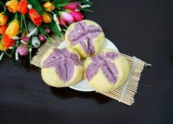 南瓜紫薯开花馒头