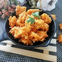素炸胡萝卜丸子的做法[图]