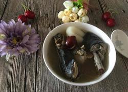 乌鸡海底椰汤