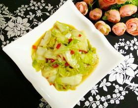 剁辣椒烩大白菜