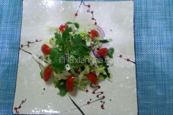 柠檬蔬菜沙拉