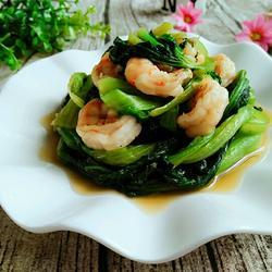 虾仁油菜的做法[图]