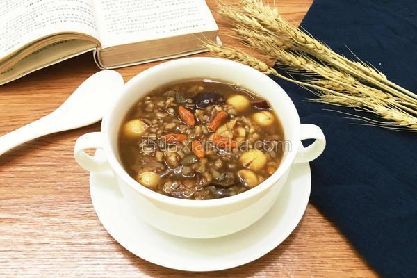 红枣红米补血养颜粥的做法