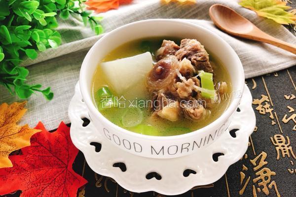 白萝卜牛尾汤