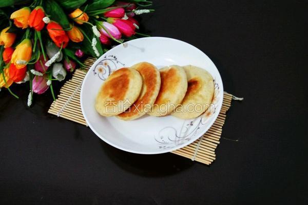 红薯发面饼