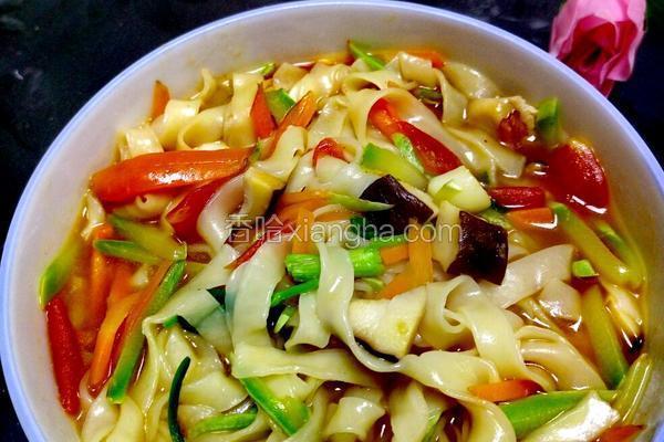 素菜汤面条