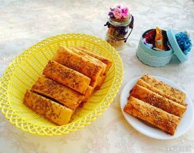 红薯五香芝麻烤饼[图]