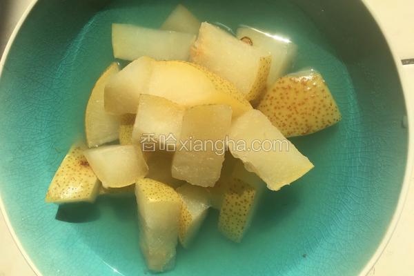 简易版梨汤