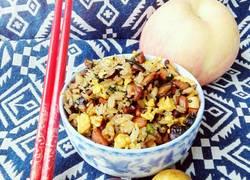 咖喱香菇蛋炒饭