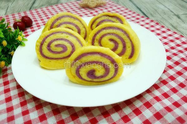 双薯馒头卷