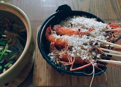 海盐焗罗氏虾
