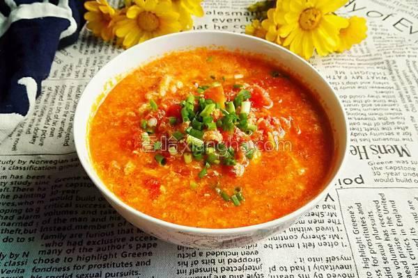 番茄浓汤的做法