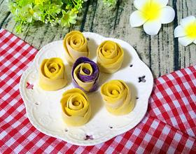南瓜黄玫瑰
