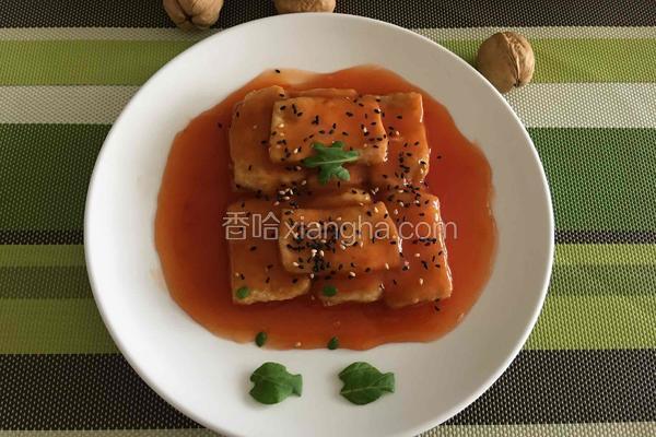 酸甜能量豆腐