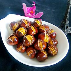 蜂蜜锥板栗(烤箱版)