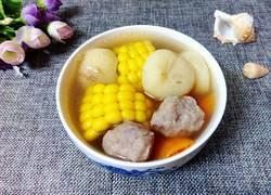 马蹄玉米汤