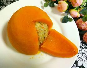 南瓜蒸糯米饭