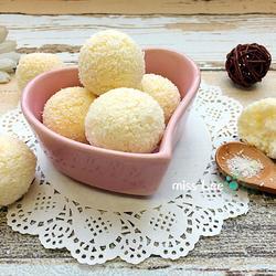 蛋白椰丝球的做法[图]