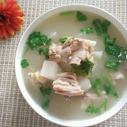 羊排萝卜汤的做法[图]