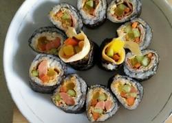 火腿培根寿司