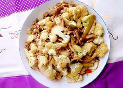 花椰菜炒肉丝