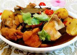 板栗炖鸡腿(电饭锅版)