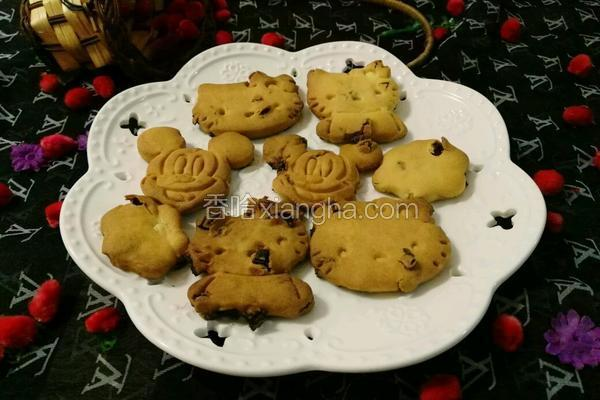 葡萄干小饼干