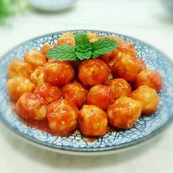 蕃茄酱裹鹌鹑