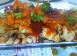 番茄汁鱼块